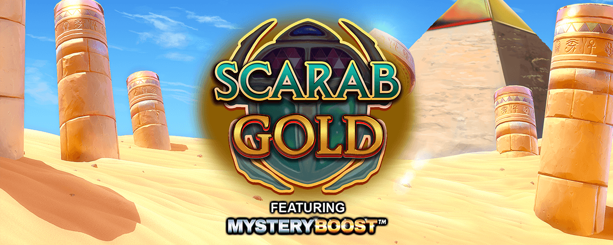 scarab gold featuring mystery boost